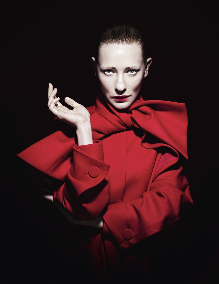 Cate Blanchett. Photo by Willy Vanderperre.