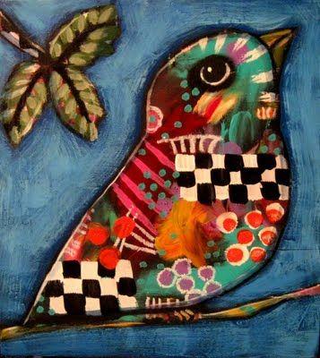 A gorgeous little bird. By: Suzan Buckner