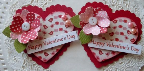 Hey, I found this really awesome Etsy listing at https://www.etsy.com/listing/177573309/valentine-heart-paper-embellishments-set
