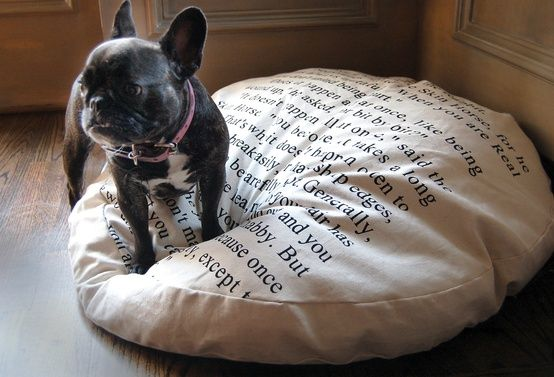 20 Ways to Make Your Home More Bookish - Retreat by Random House #Frenchie #FrenchBulldog