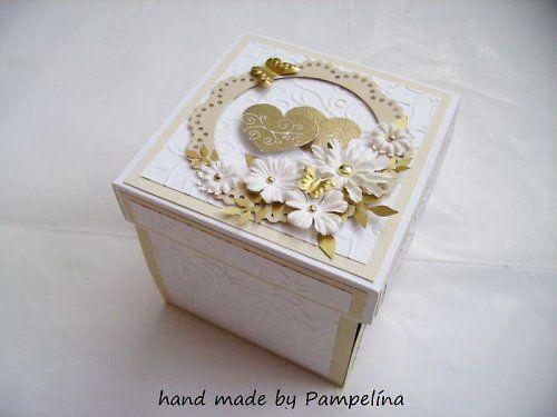 Luxusní svatební exploding box - na přání
