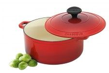Chasseur Round French Oven Inferno Red 18cm
