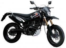 The Qingqi QM200GY Dual-Sport Motorcycle