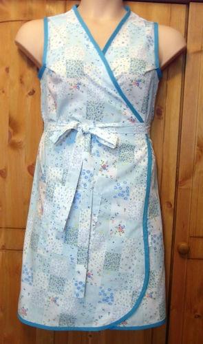 1940s1950s vintage retro wrap around apron pinny