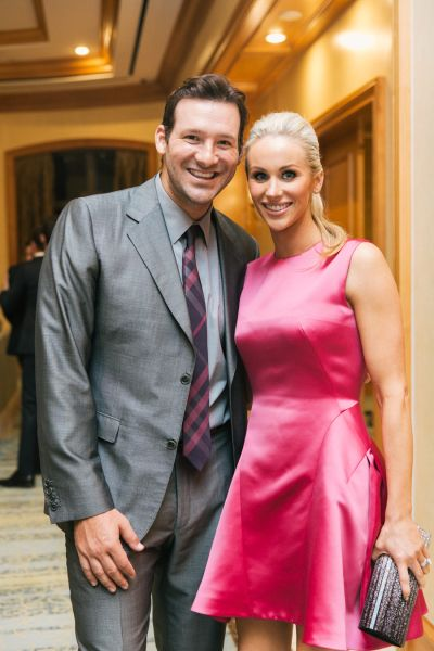 When Tony Romo and Candice Crawford attend your wedding: http://www.stylemepretty.com/2016/10/04/blake-lively-wedding-guest-after-baby/ Photography: Kat Harris - http://www.katharrisweddings.com/