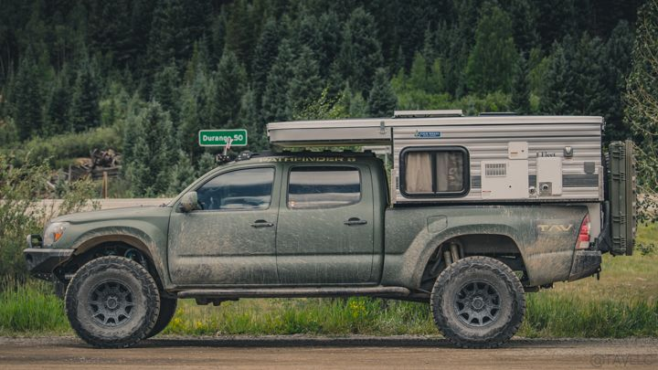Expedition Build Of 2009 Toyota Tacoma With Long Travel Suspension