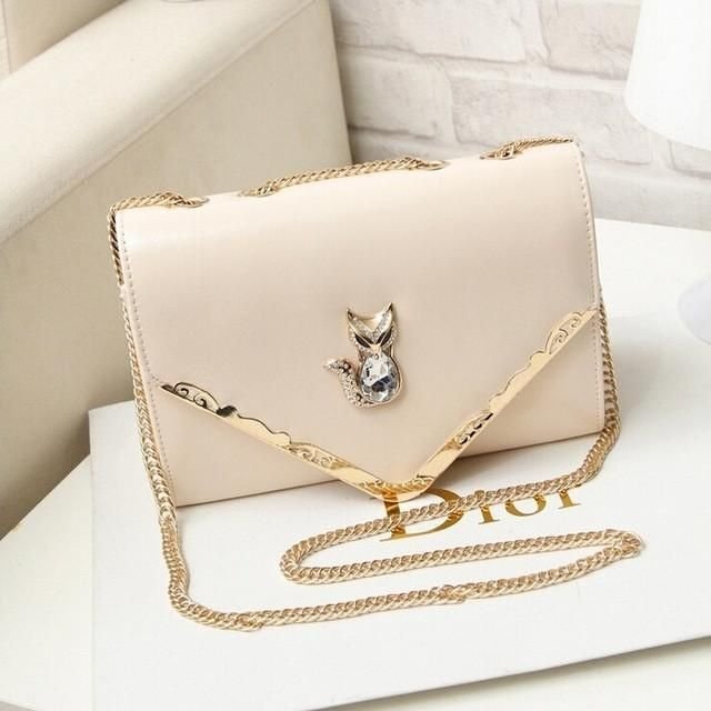 Fashion trend women bag single shoulder messenger bags diamond chain portable bags
