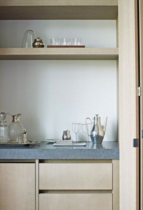 | DETAILS | Paris Luxury Apartment | #PietBoon® #cabinetry work areas concealed door access