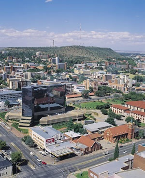 Bloemfontein - the judicial capital of South Africa (i.e. where the Appellate Court of SA is located).