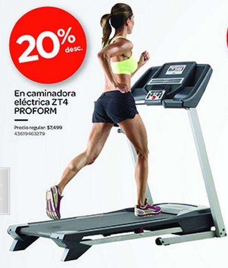 best website e32f8 e2488 20% de descuento en Caminadora Eléctrica ZT4 ProForm, en City Club.   PromoMap  Promo  Deporte   Promociones Deportes   Pinterest   Gym, ...