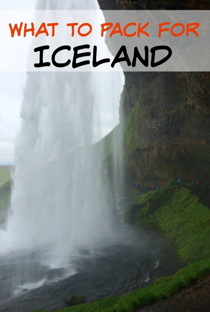 What to pack for Iceland: An Iceland Packing List for Summer