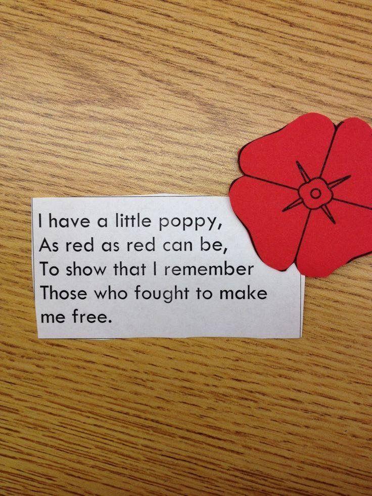 Memorial Day  Veterans Day Poppy