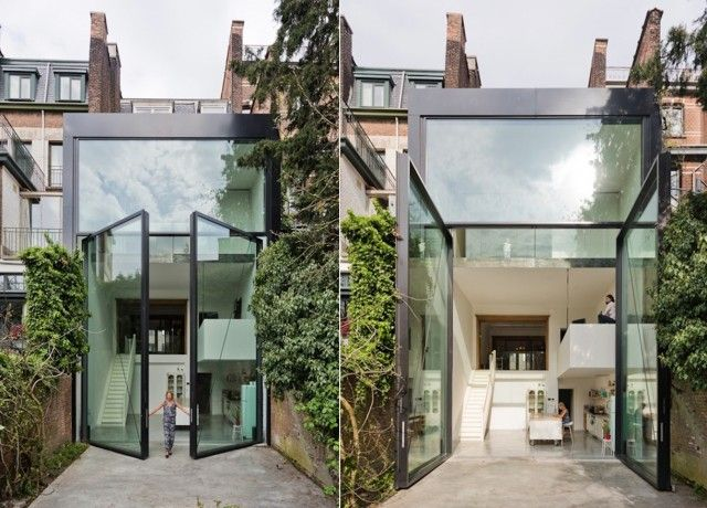 A House with the World's Largest Pivoting Doors – Fubiz™