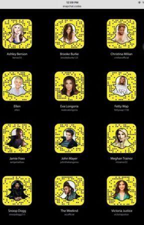 Snapchat Usernames - Vampire diaries Cast - Wattpad