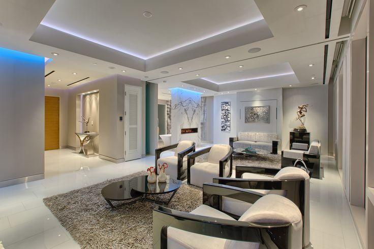 Mandarin Oriental Show Home Unit 4307 Benjaminmoore Winter White Oc 21 With Aura Matte