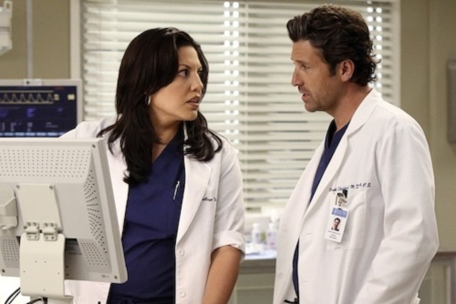 [PHOTOS] Grey's Anatomy Season 9 Scoop — Derek can't hand(le) the truth