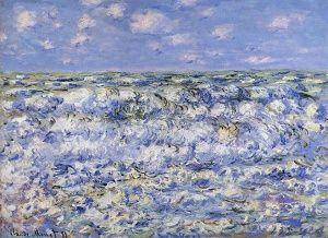Sea Painting: Waves Breaking
