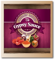 This isn't a recipe but it's a delicious sauce designed to complement bratwursts and sausages in any number of recipes. Gypsy Sauce is made from bell peppers giving a tangy peppery edge to any sausage dish.  Can be bought from The Bratwurst, 38 Berwick Street, Soho, London (www.the-bratwurst.com)