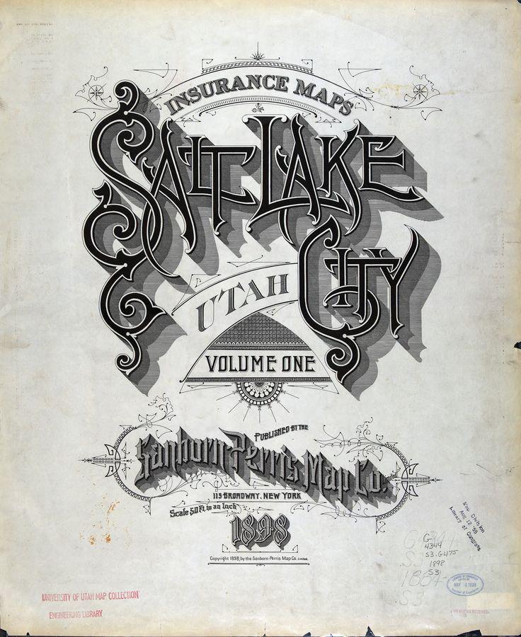 Salt Lake City, Utah - Sanborn Perris Map Co.