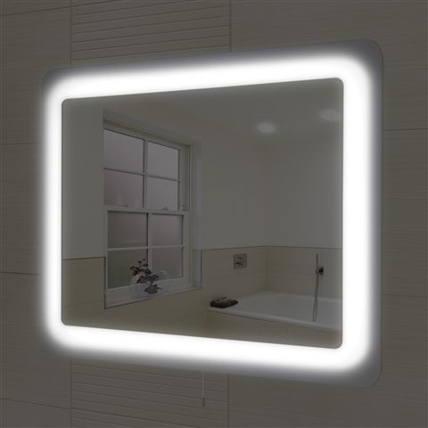 brighten up your bathroom with this gorgeous aleta led mirror 750 x 600 mm