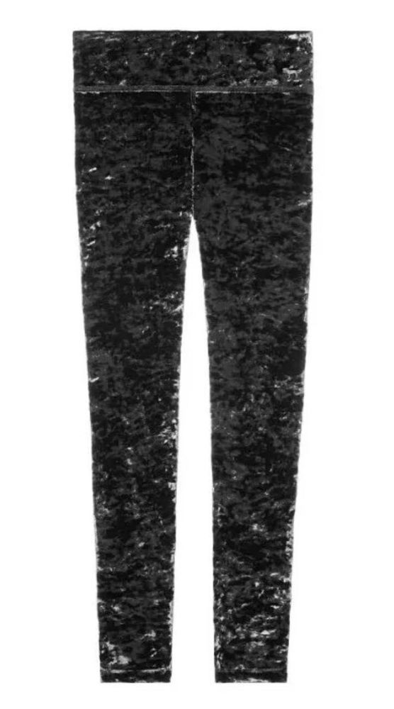 aab6bd75c5c12a Victorias Secret PINK Crushed Velvet Legging Medium Nwt   eBay ...