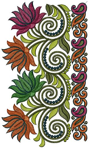 New Latest Lace Embroidery Design 13760