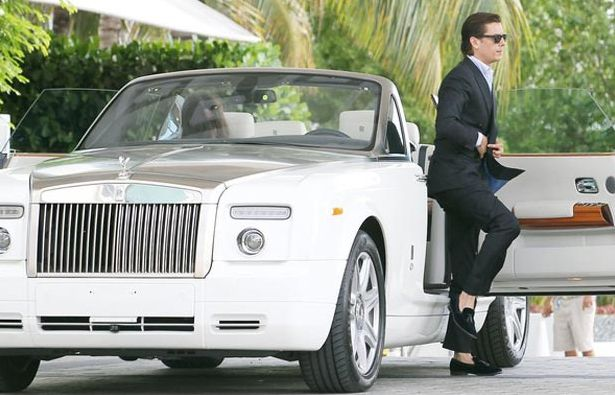 Scott Disck's Rolls Royce is one of the prized collections. Who has the best #Kardashian car? Click to find out...