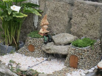 1000 images about mi jardin on pinterest tu y yo minis - Duendes para jardin ...