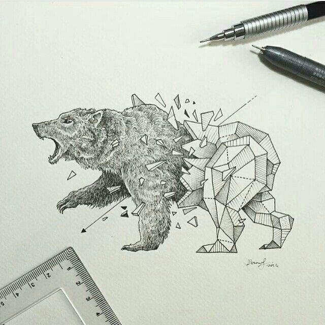 Geometric Beasts   Bear