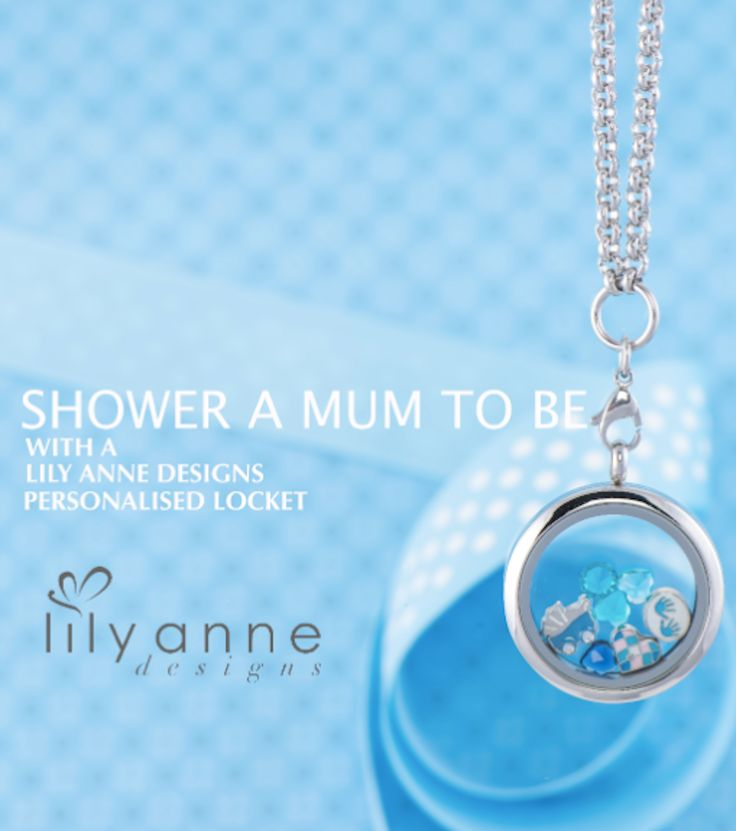 Shower a Mum to be with a locket!