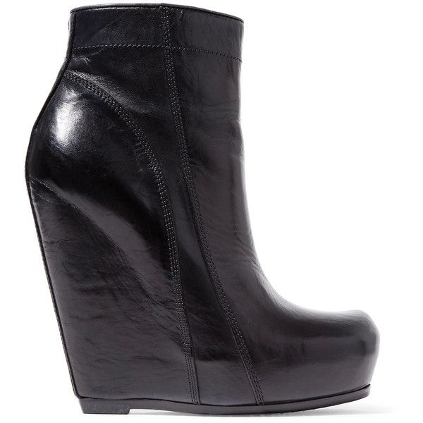 17 mejores ideas sobre Black Wedge Ankle Boots en Pinterest ...