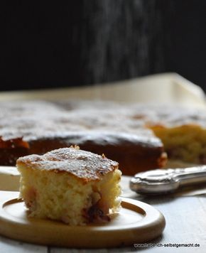 Blitz Kuchen Mit Buttermilch Rezept Essen Und Trinken