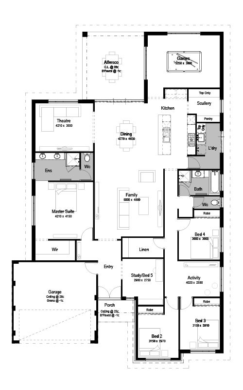 32 best House Plans images on Pinterest | House design, House floor ...