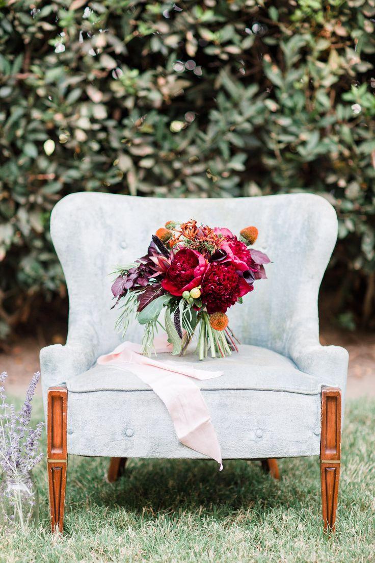 Burgundy bouquet