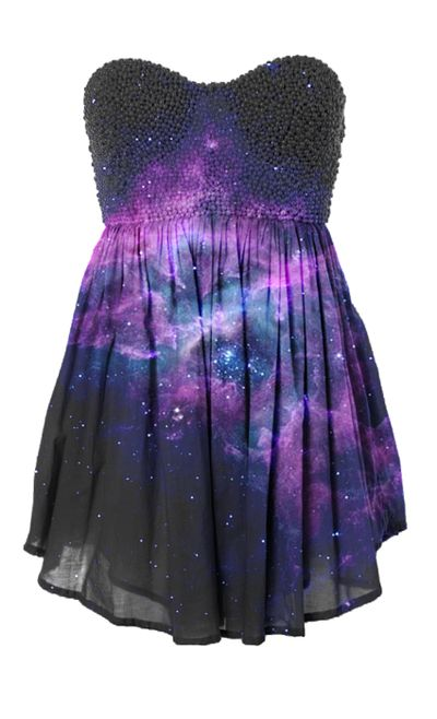 I'm a sucker for anything astronomy. Having this dress would make my day.