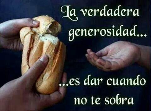 generosidad                                                                                                                                                                                 Más