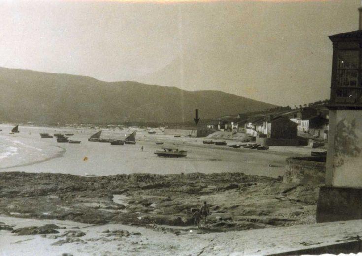 Laxe (A Coruña). Antigua fábrica de salazones