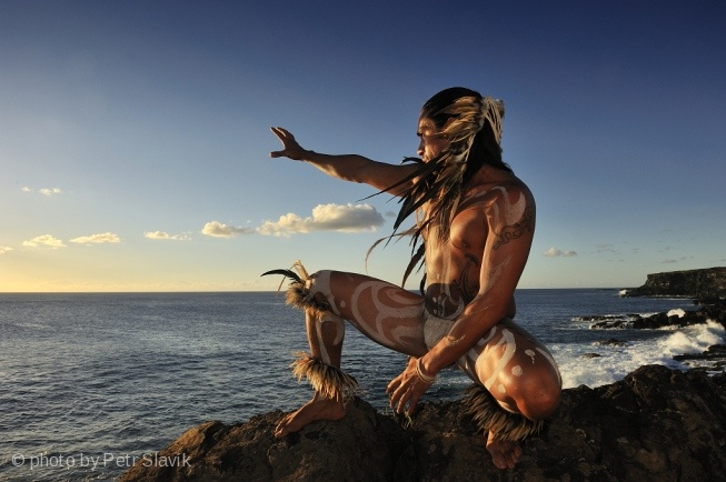 Vaenga Teao from Rapa Nui IslandEaster Island