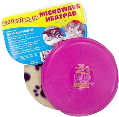 SnuggleSafe Microwave Wireless Heatpad with Fleece Cover colour may vary