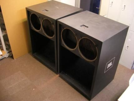 jbl bassrutsche leergeh use bassbin enclosure. Black Bedroom Furniture Sets. Home Design Ideas