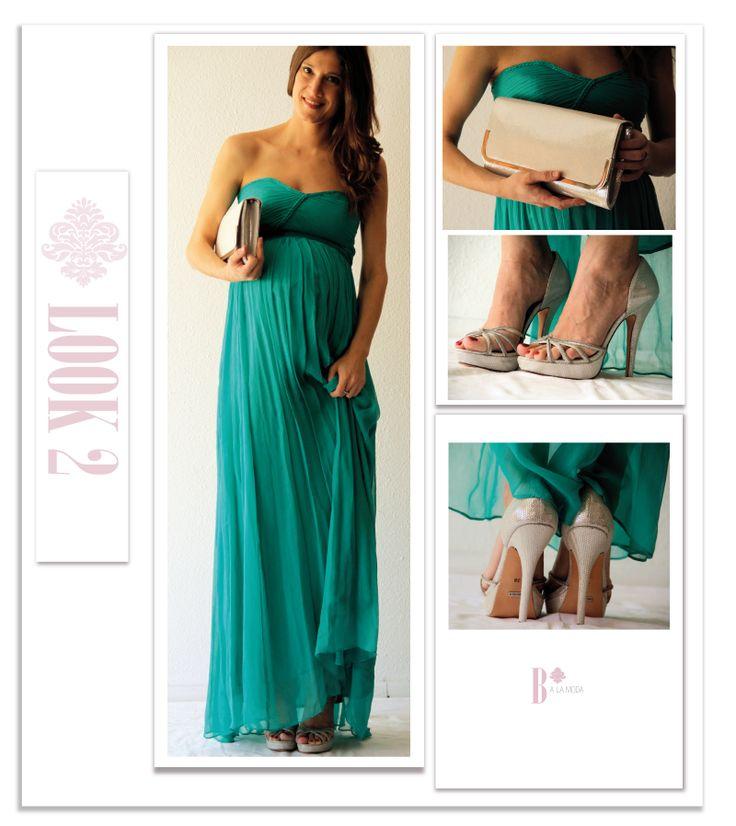 Vestido: Mango  Zapatos: Menbur   Bolso: Menbur