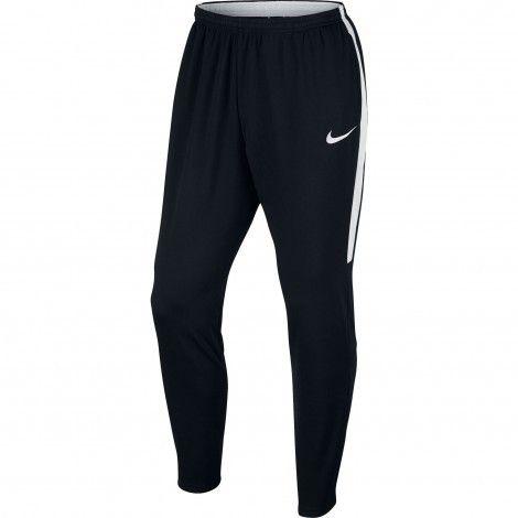 Nike Dry Academy trainingsbroek heren black white #Nike #trainingsbroek