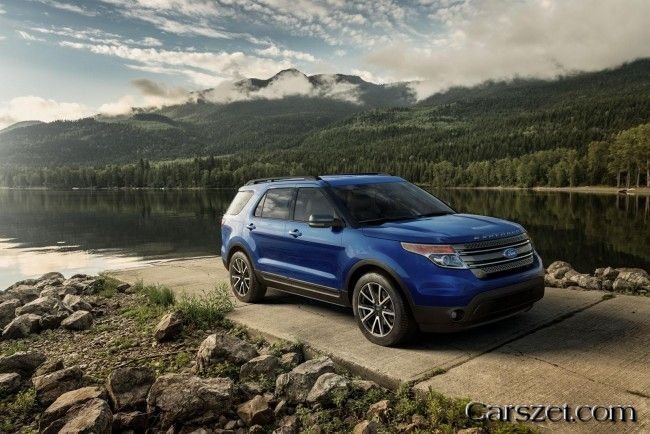 2018 2019 Ford Explorer Has A New Visual Package Ford Explorer Ford Explorer Sport Ford Explorer Reviews
