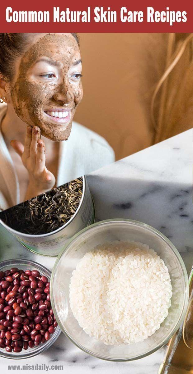 Common Natural Skin Care Recipes  -  Hautpflege-Rezepte