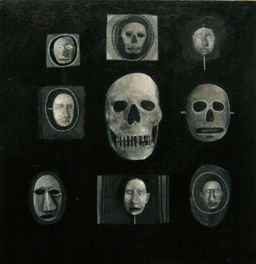 """Saatchi Art Artist Espen Erichsen; Painting, """"Collection V (Ex Voto)"""" #art"""