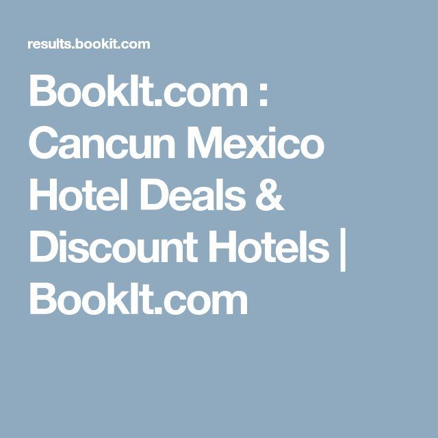 BookIt.com : Cancun Mexico Hotel Deals & Discount Hotels   BookIt.com