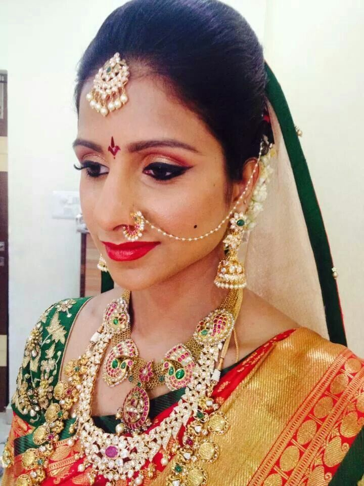 Indian Wedding Nose Ring Bridal Nose Ring For An Indian Bride With
