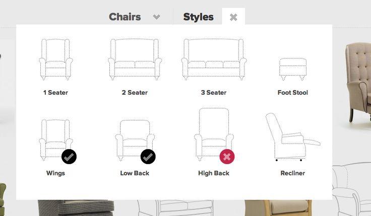 Shackletons - #filtres #ecommerce #list #filter #ux #ui #webdesign #inspiration