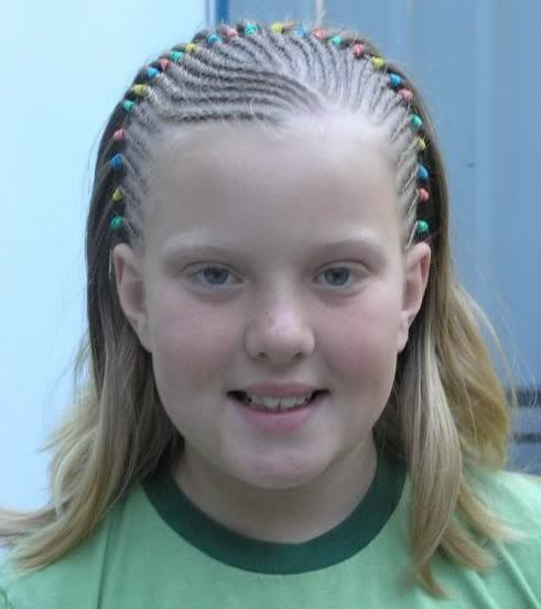 egg headlong corn row hair do | Advantages Of White Girl Cornrows - Cornrow Photos for White Girls