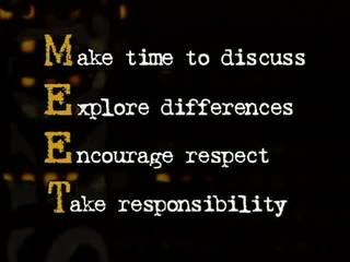 M.E.E.T. on Common Ground: Speaking Up for Respect in the Workplace - an eLearning asset